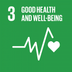 Good Health & Well Being SDG Icon