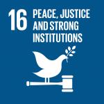 Peace & Justice SDG Icon